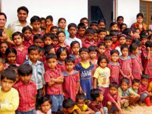 Bridge School Students at Samridhdhi Trust