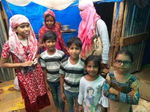 Samridhdhi students in the community