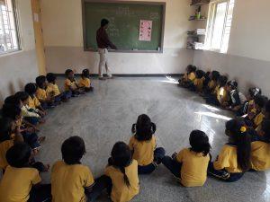 Students in class | Samridhdhi Trust