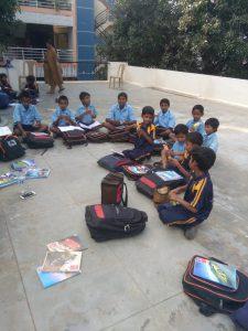 Migrant children receiving support in the Afterschool Program   Samridhdhi Trust