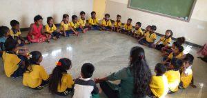 Migrant children at Samridhdhi Bridge School