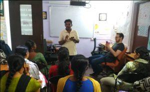 Staff training at Samridhdhi Trust