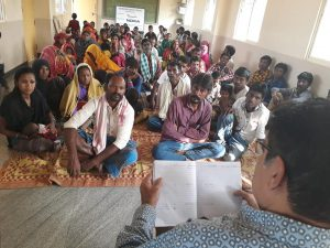 Involving the community   Samridhdhi Trust