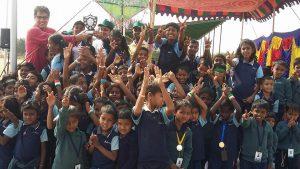 Samridhdhi School students celebrate