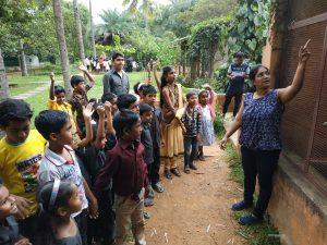 Martin's Farm Visit   Samridhdhi Trust, Bangalore