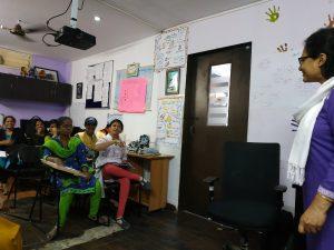 Working at Samridhdhi Trust