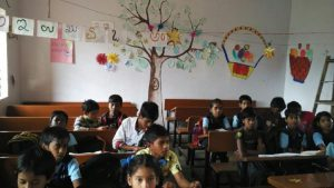 Classroom at Nalurahalli   Samridhdhi Trust