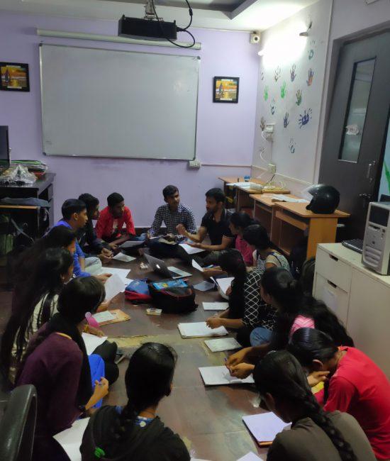 Workshop at the Finishing School | Samridhdhi Trust