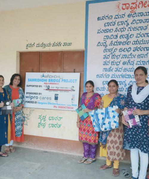 Nallurahalli Bridge School Staff   Samridhdhi Trust