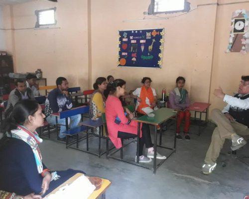 Teacher's training   Samridhdhi Trust